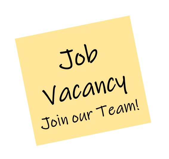 Yellow Sticky Note, Job Vacancy, Join our Team