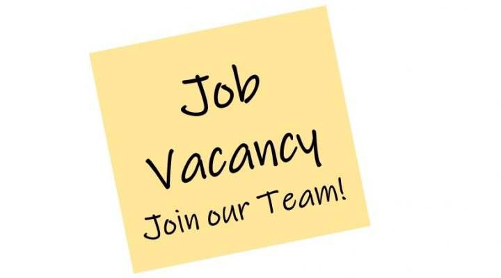 Stickynote; Job Vacancy, Join our Team!
