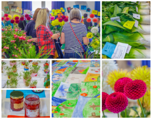 Horticultural Show Collage 2018