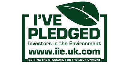 Investors in the Environment Pledge Badge