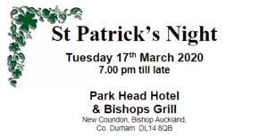 St Patrick's Night Thumbnail, 17th March 2020