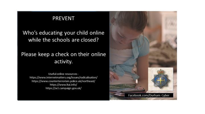 Who's educating your child online whilst the schools are closed?