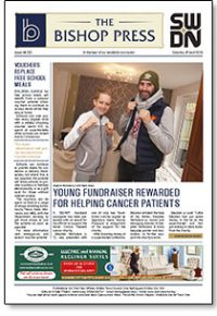 Bishop Press; Issue 283, Preview of Front Page