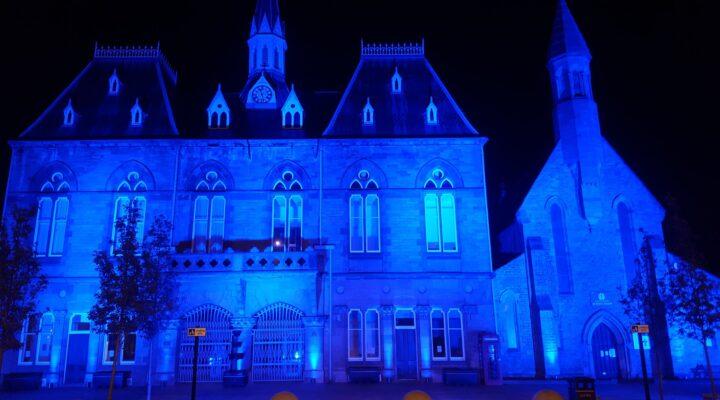 Bishop Turns Blue - Town Hall